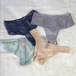 4 Victoria Secret underwear/Size: XS